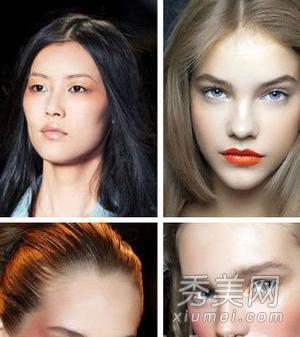 元旦 气色 时髦 妆容 出行/Makeup Trend 1:砖红色腮红