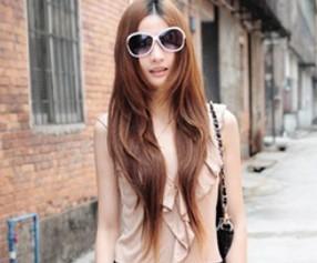 非主流长发发型_非主流女生长发发型