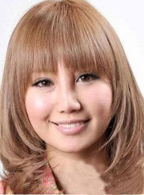 长发发型设计图片 圆脸长发发型设计