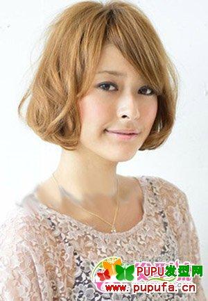方脸短发发型设计 让你出位的女生短发