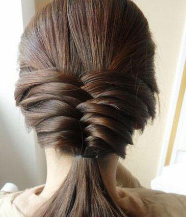 怎样梳理头发才好看_如何正确的梳理好头发美发资讯馨榕学校